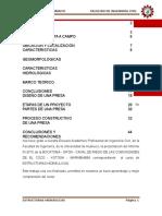Informe Bocatoma El Cozo
