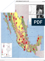 Mapa de Vientos Dominantes Mexico