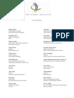 081. Clinton's Global Initiative 2007; Members include ARK (Paul Bernstein).
