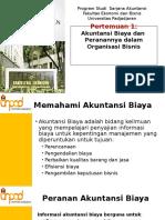 SESI 1 - Akuntansi Biaya Dan Peranannya Dalam Organisasi Bisnis