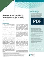 Handwashing Behavior Change Senegal WSP Sept 2010