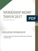 Workshop Mgmp