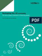 Reshaping the UK economy
