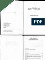 BORGES Politicas de La Literatura JP Dabove 1
