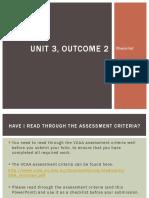 unit3 outcome2 checklist