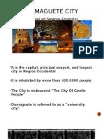 Dumaguete Report