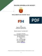 Reglamento Indoor hockey 2017 español