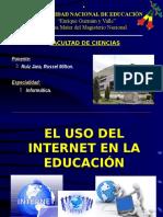 El Uso Del Internet en La Educación