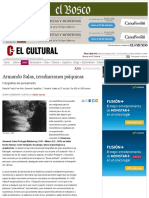 Armando Salas, irradiaciones psíquicas