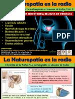Jardin de La Salud Programa 8 Hipertrofia Benigna de Prostata