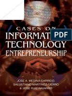 ENTREPRENEURSHIP Cases on Information Technology Entrepreneurship