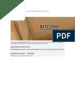 Como Invertir en Btc Facil