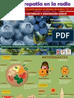 Jardin de La Salud Programa Antioxidantes Naturales y Arandanos Azules 19 05 2017
