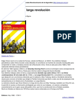 PCR-- Partido Comunista Revolucionario de La Argentina - Edgard Snow- La Larga Revolución - 2011-08-17
