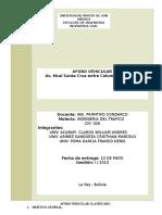Trafico 2013 Informe Guia