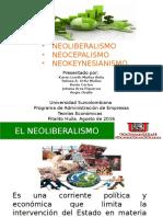 EXPOSICION - TEORIAS ECONOMICAS