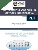 Los Primeros Pasos Para Un Convenio Internacional(4)