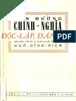 (1956) Con Đường Chính Nghĩa Độc Lập Dân Chủ