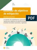Spanish - Mitigation Goal Executive Summary
