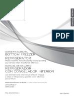 Manual de Refrigerador LG