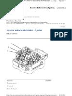 Calibracion de Inyectores c11, c13
