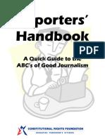 Manual Del Reportero