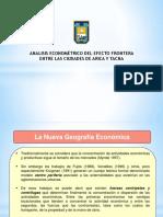 Diapositivas - Efecto Frontera Arica y Tacna, Vision Econ y Com