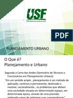 Aula 6 Etapas Do Planejamento Urbano I
