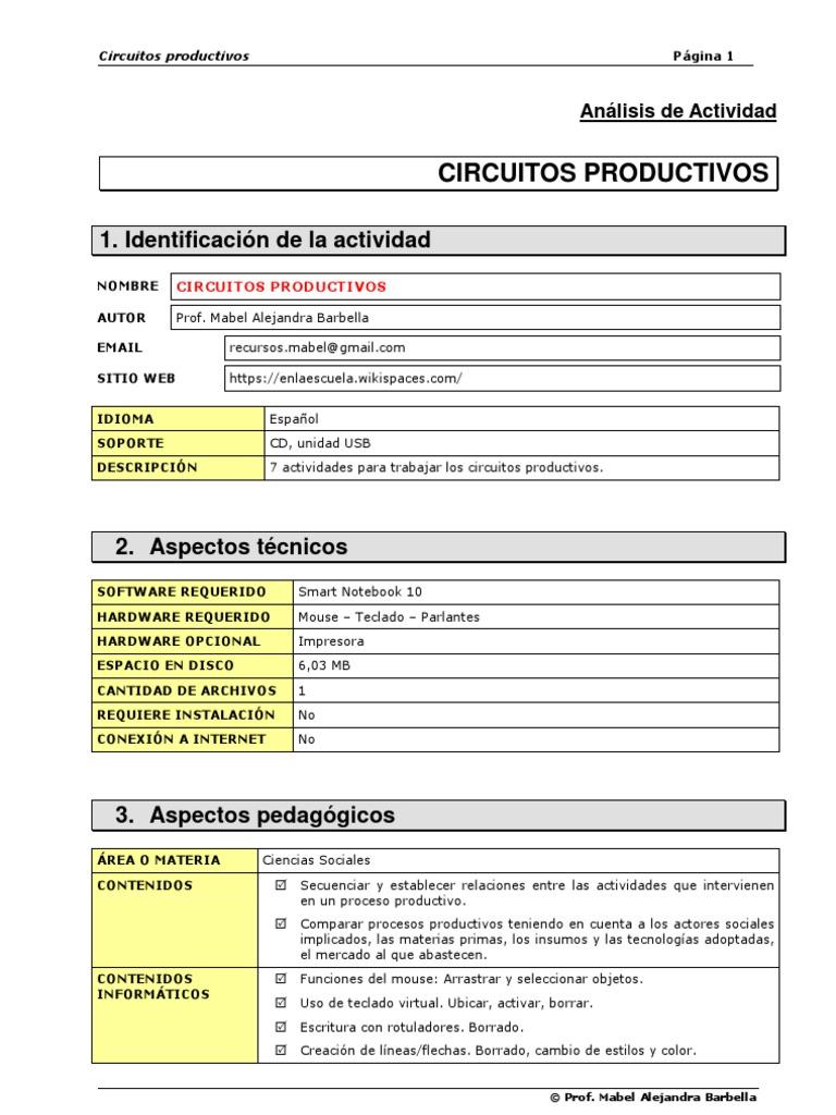 Circuito Productivo : Circuito productivo de la frutilla letras
