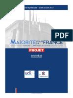 Elections Legislatives Projet Synthese