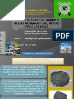 EL CLAN DEL GABRO Y ROCAS ULTRAMAFICAS, ROCAS PIROCLÁSTICAS.pptx