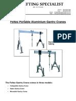 Feltes Portable Cranes