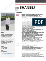 Resume For BSS & OMCR Engineer Telecome