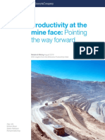 Productivity at the Mine Face Pointing the Way Forward