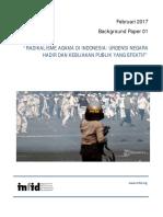 Briefing Paper No1 Radikalisme Agama