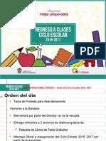INICIO SIMULTANEO DE CICLO ESCOLAR 16-17.pptx