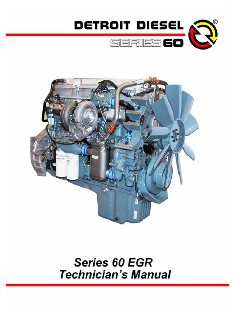 Series 60 EGR Tech Guide 2005 | Turbocharger | Diesel Engine