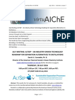 The AIChE VLS July 2016 Newsletter