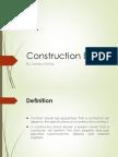 Construction Bonds and Delays