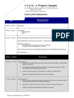 Women's Summit Program - Mar 13