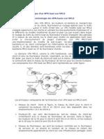 Configuration de VRF MPLS