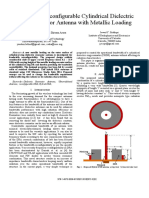 IEEE_2015_Bandwidth Reconfigurable Cylindrical Dielectric Ring Resonator Antenna With Metallic Loading