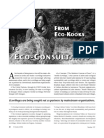 From Eco-Kooks to Eco-Consultants