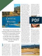 Crystal Waters 15 years on