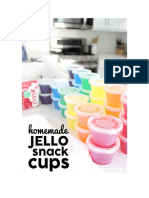Homemade Jello Sherbet