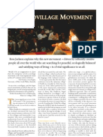 The Ecovillage movement