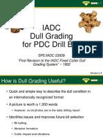 PDC Dull Grading
