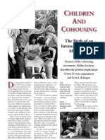 Children and Cohousing - The Birth of an International Social Movement