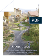 COHOUSING - Alan Heeks explores why cohousing can radically reduce your carbon footprint – and make you happy.