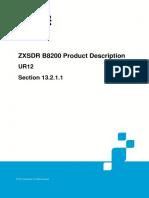 239109866 ZTE ZXSDR B8200 Product Description